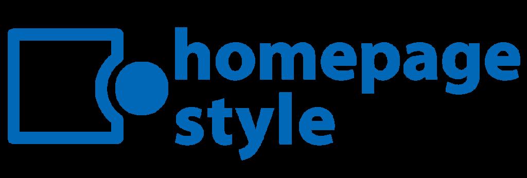 ホームページ制作homepage.style_ロゴ横長