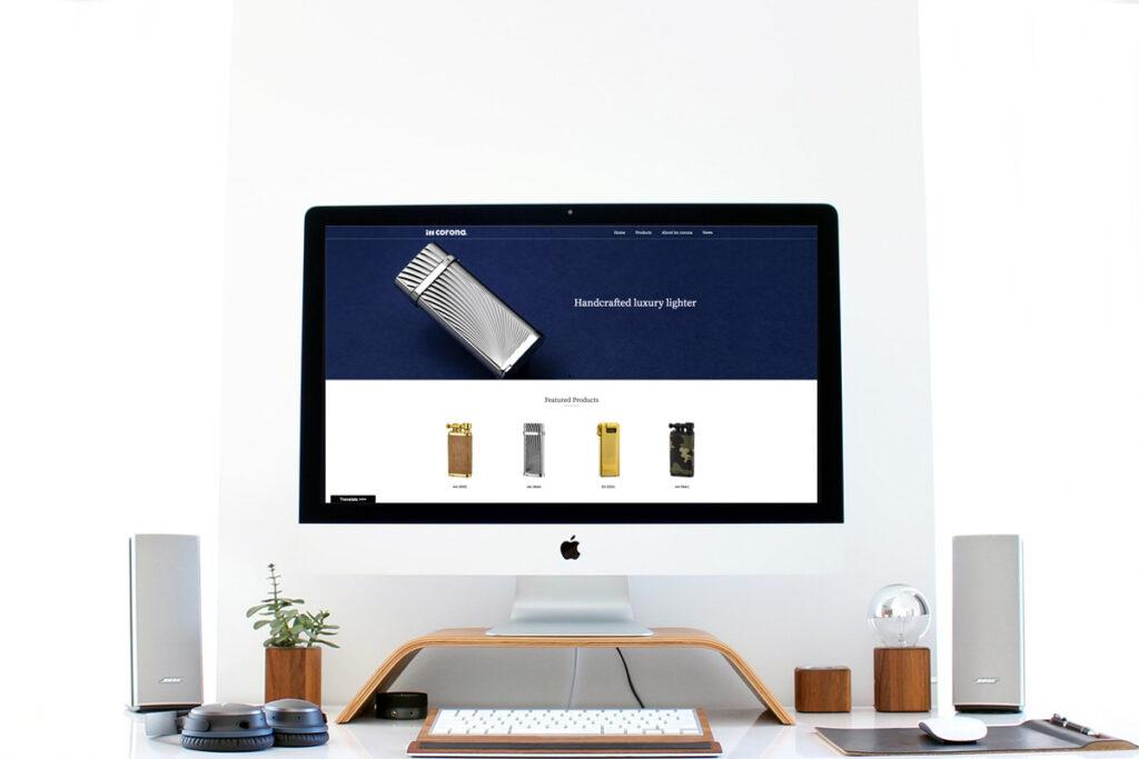 homepage.styleホームページ制作実績_メーカーIMCORONA01
