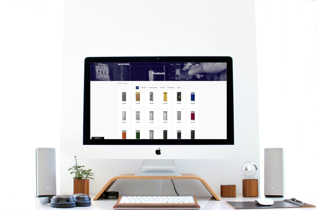 homepage.styleホームページ制作実績_メーカーIMCORONA06