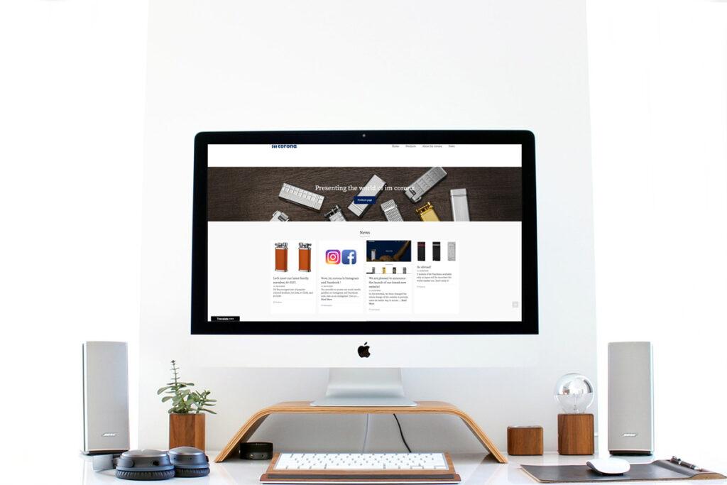 homepage.styleホームページ制作実績_メーカーIMCORONA07