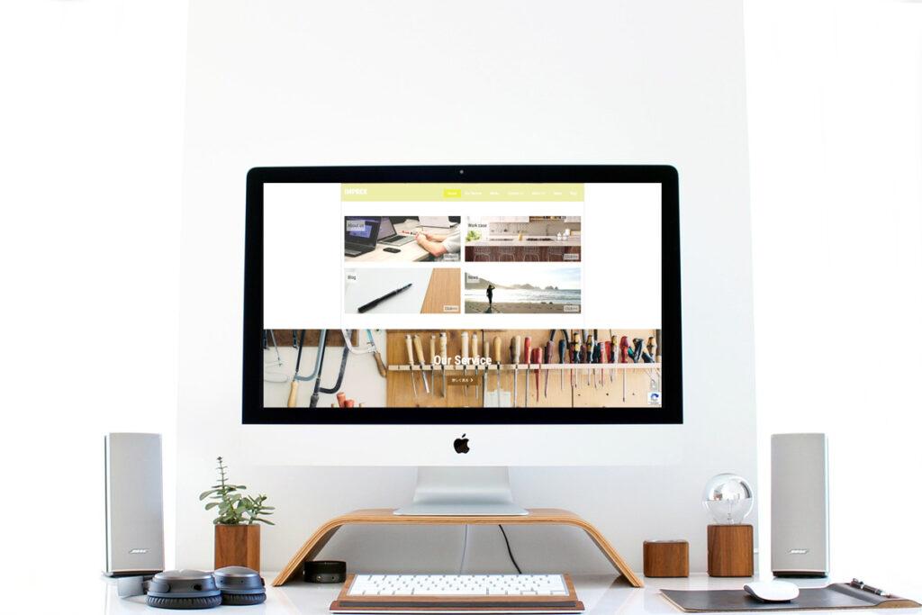 homepage.styleホームページ制作実績_工務店IMPREX05