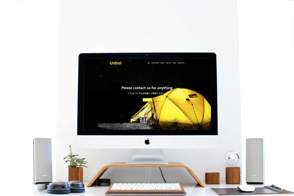 homepage.styleホームページ制作実績_広告代理店Unbel04